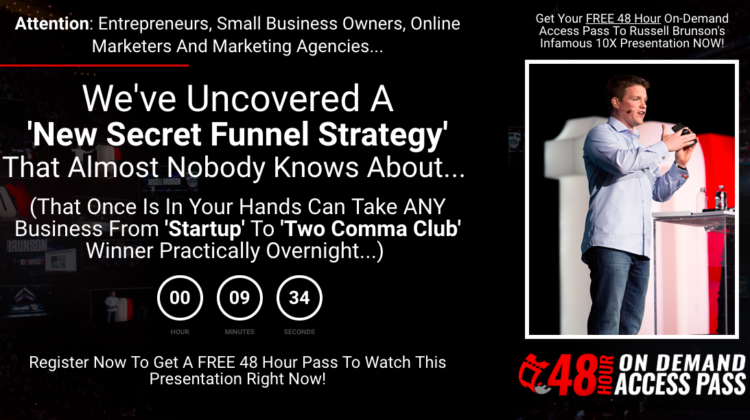 Russell Brunson's Secret Funnel Strategy