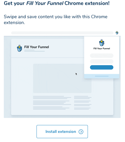 install the clickfunnels fill your funnel chrome extension